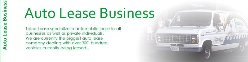 Auto Lease Business